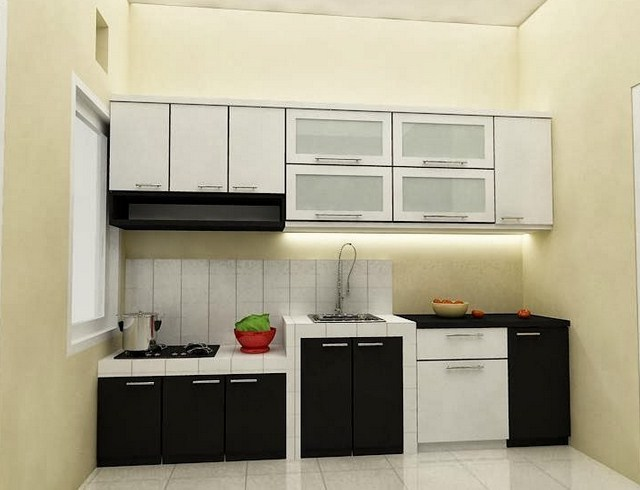 Kitchen Set Dapur Kecil Archives Informasi Rumah